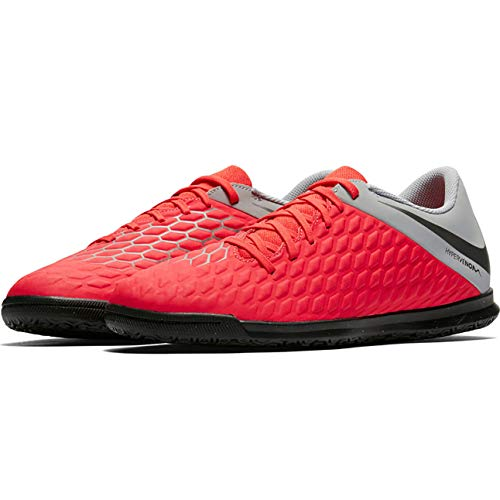 Fitness 3 Club Grey NIKE Unisex Tf Adults Dark Lt Grey Crimson Hypervenom Mtlc 600 Multicolour Wolf Shoes ntHwYqIw