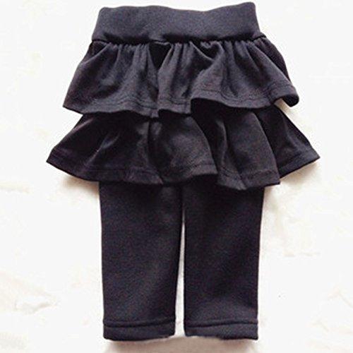 Spritech(TM) Baby Girls New Fashion Add Wool Winter Pure Cotton Layered Dress Tutu Dress Gray