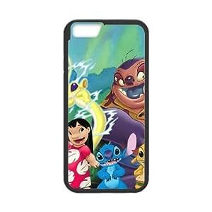 iPhone6 Plus 5.5 inch Phone Case Black Lilo and Stitch UYUI6827739