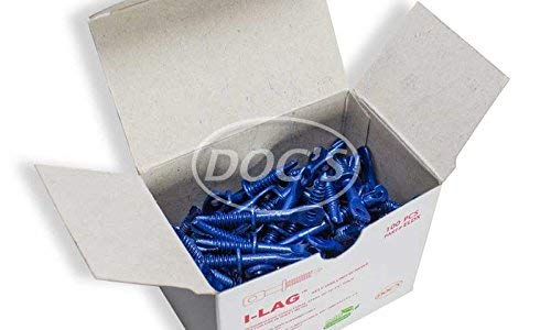 Acoustical Eye Lag Screw DEEP DRILLING UP TO 1/4'' STEEL! (Box of 100) ~ ELDX