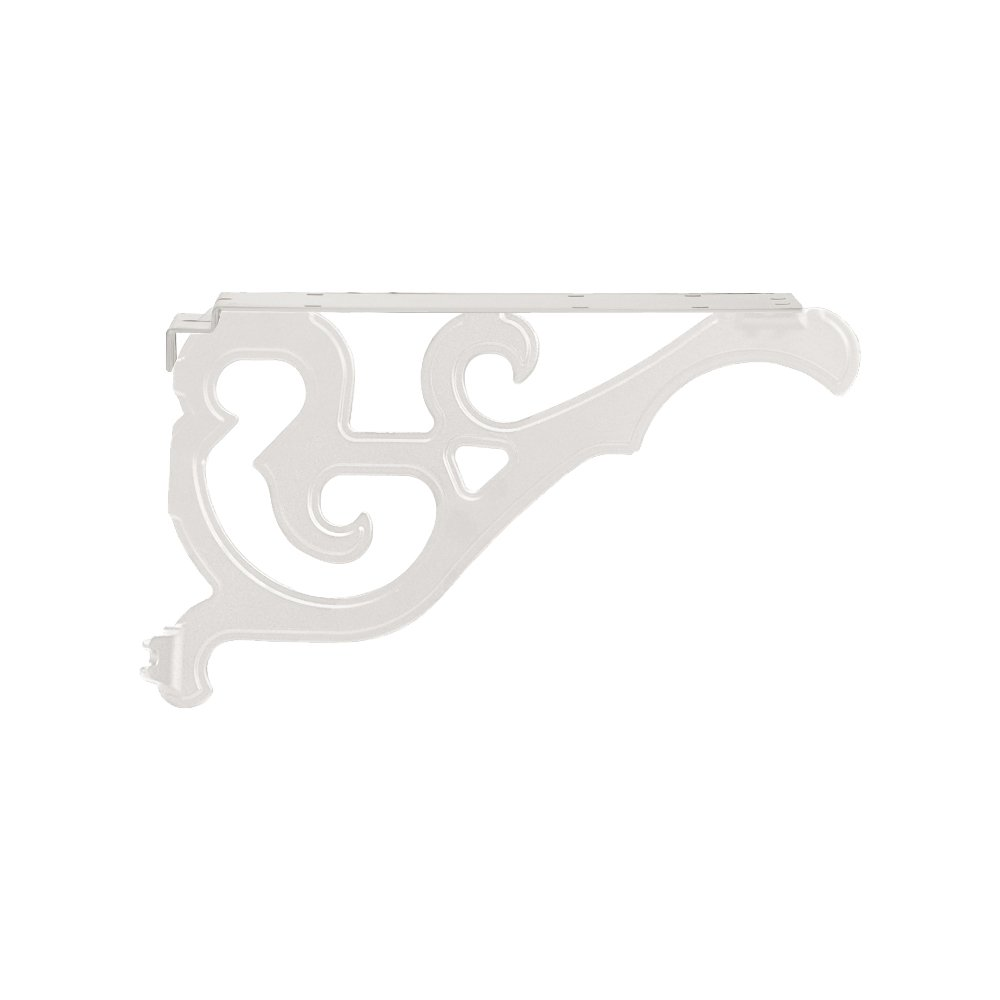 Salsbury Industries 4847WHT Arm Kit Replacement for Decorative Mailbox Post, Victorian, White