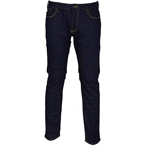 Armani Jeans Five Pocket Jeans - Emporio Armani Men's 5 Pocket Denim Pant, Dark Blue Blue, 34