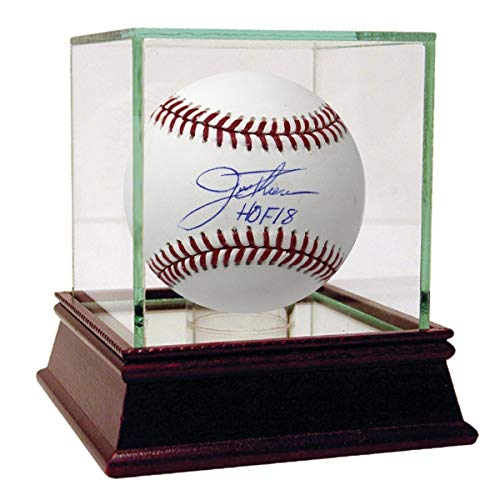 Jim Thome Autographed Signed Mlb Baseball With Hof 2018 Insc ()