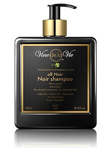 Vine de la Vie oR Noir Shampoo, Organic-Based - Wine Extr...