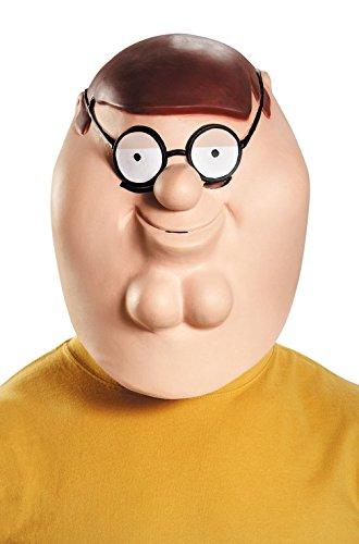 [Mememall Fashion Family Guy Peter Deluxe Adult Mask] (Family Guy Masks Costumes)