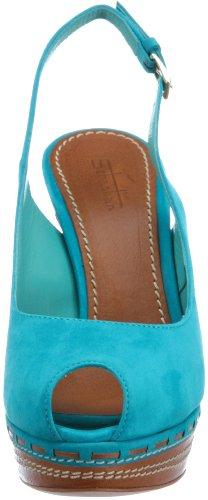 Sebastian WOMAN'S SHOE S5230 CATU+VACU - Sandalias de tela para mujer Azul