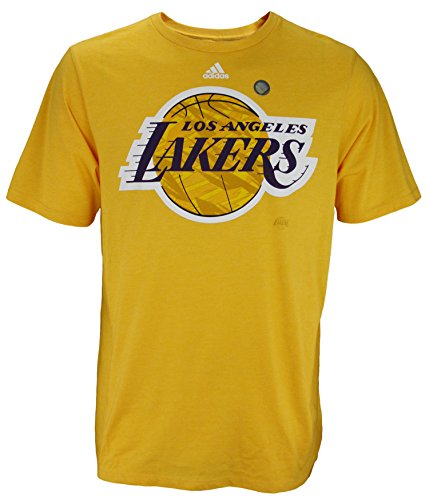 Los Angeles Lakers NBA Men's Dual Blend Short Sleeve Tee – Yellow – Sports Center Store