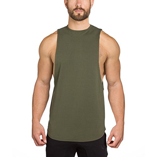 EU Men's Bodybuilding Fitness Gym Tank Top Muscle Workout Sleeveless Shirts Singlet