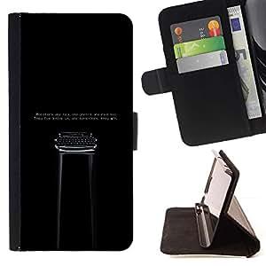 Momo Phone Case / Flip Funda de Cuero Case Cover - Máquina de escribir;;;;;;;; - HTC One A9
