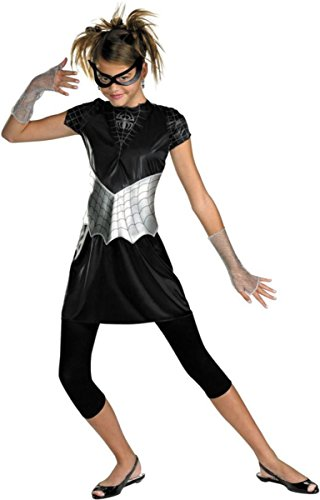 Disguise Costumes Spider Girl's Black Suited 7-9