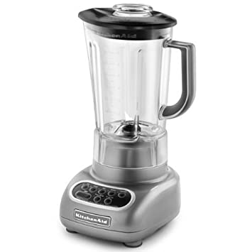 Attractive KitchenAid Silver Blender (KSB560CU)