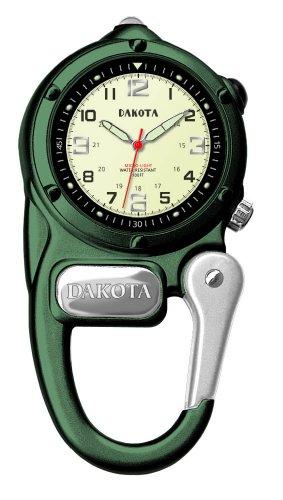 (Dakota Green Mini Clip Microlight Watch)