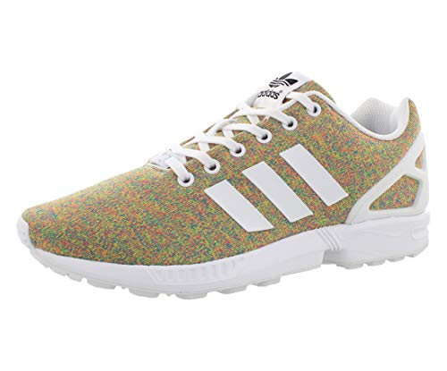 adidas Originals Men's Zx Flux Sneakers, White, (9 M US)