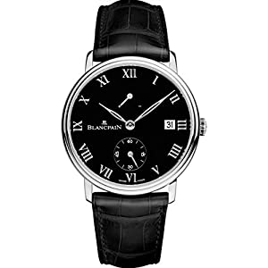 Best Epic Trends 415ovqn68EL._SS300_ Blancpain Limited Edition Manual Wind, 8 Days Power Reserve, Platinum Mens Watch 6614-3437-55B