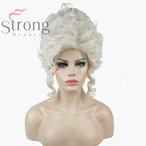 Renaissance palace masquerade Queen Mary Queen Marie Antoin wig custom Victorian for $<!--$20.46-->