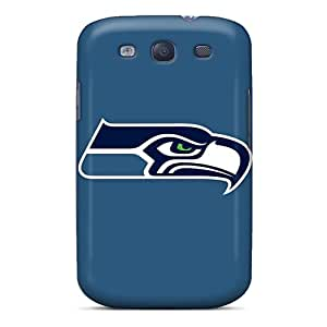 Protective Tpu Case With Fashion Design For Galaxy S3 (seattle Seahawks 2)