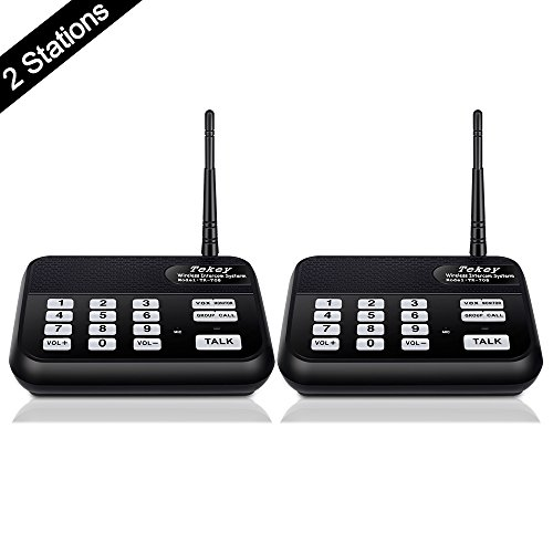Wireless Intercom System 2018