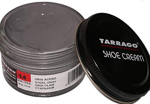 Tarrago Shoe Cream Jar 50Ml. Steel Gray #14 from Tarrago
