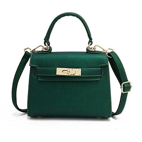 Messenger Donna Wild Portatile Piccola Borse Modello Tracolla Grande Capacità Female Jelly Green Litchi A Simple Bag Borsa 8qdvdwZ