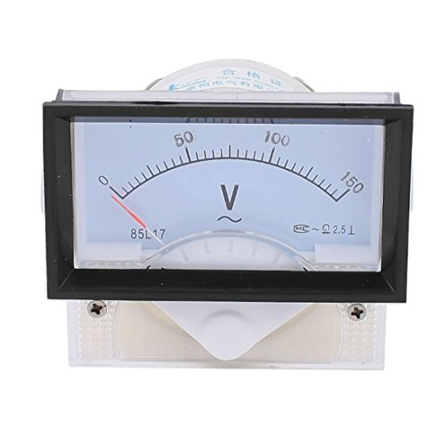 UXcell 85L17 Analog Panel Volt Voltage Meter Voltmeter Ga...