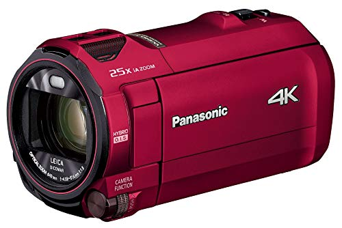 PANASONIC HC-VX992M-R [Digital 4K Camcorder 64 GB Internal Memory Urban Red] Japan Import ()