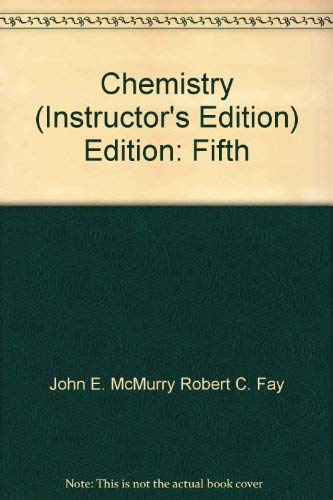 Chemistry. 5th ed. Instructor's Edition.
