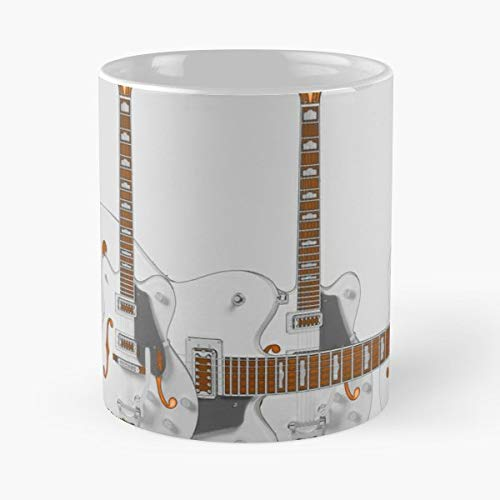 - Gretsch Chet Atkins Guitar Electric - Ceramic Novelty Mugs 11 Oz, Funny Gift