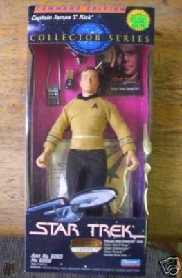 Star Trek Command Edition Captain James T Kirk 9 Inch Figure (Mego Star Trek Kirk)