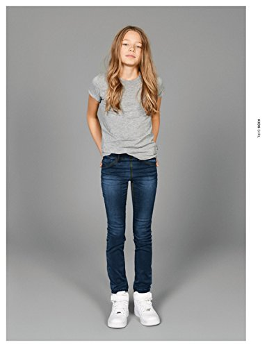 Azul Legging Denim IT Niñas Dark Nmt Noos Jeans Dnm Nittanja NAME q8atRa