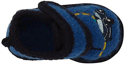 SterntalerHausschuh - pantuflas Bebé-Niñas Azul - Blau (königsblau / 315)