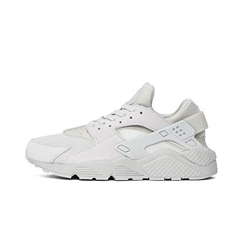 Nike Air Huarache Premium (Neutral Grey/Neutral Grey) Suede Monochrome (12)