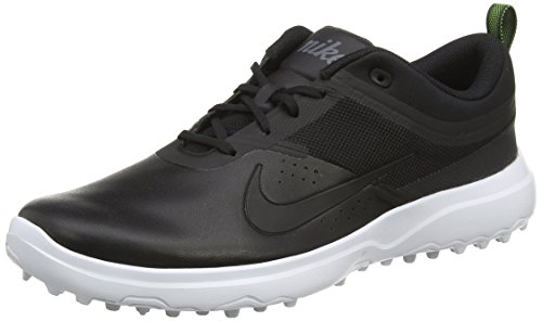 NIKE AKAMAI Spikeless Golf Shoes 2017 Women Black/White/Pure Platinum/Black Medium 7.5