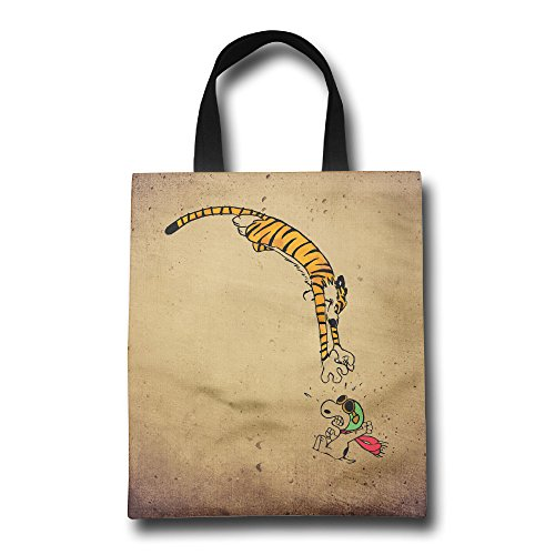 ^GinaR^ 200g Calvin And Hobbes With Snoopy 2 Exquisite Non Woven Bag