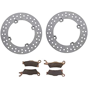2014 Can-Am Outlander 650 Front and Rear Brake Rotors Discs and Brake Pads