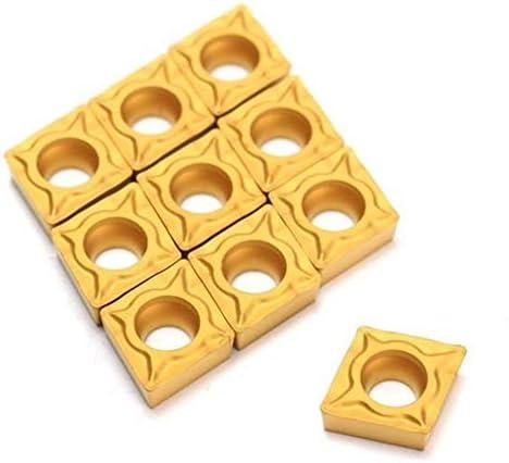 Carbide Werkzeug-Zubehör, CNC-Werkzeugzubehör, Ma CCMT060204-HM YBC251, Karbidklinge titannitriert Carbide Klinge Cutter