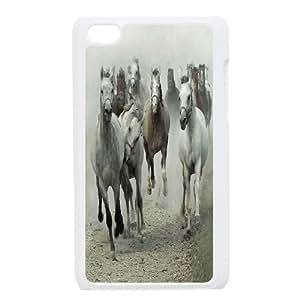 Custom Flocks of Horses Ipod Touch 4 Case, Flocks of Horses Personalized Case for iPod Touch4 at Lzzcase