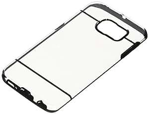 SAMRICK Studs puntos Brillante brillante duro híbrido Armadura Protección Shell Funda para Samsung Galaxy S6 Edge Plus - Negro / Transparente Transparente