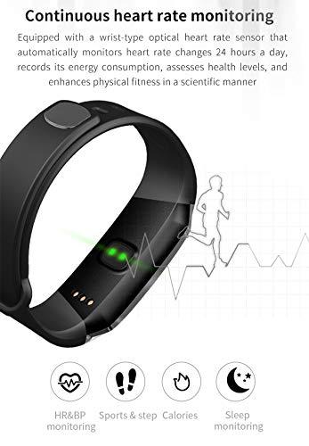 Montre connectée Smartwatch Intelligente Tension artérielle Fréquence Cardiaque Homme Femme à la Mode Coloré Bracelet…