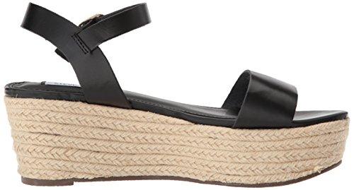Steve Madden Vrouwen Bezig Wedge Sandaal Zwart
