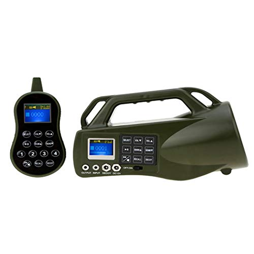 Game Caller Fox Decoy Hunting Decoy Device Mp3 with Remote Control 500m CP-550 Predator Calls by Generic