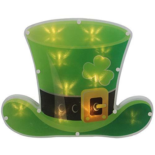 """Northlight 12.5"""" LED Lighted Irish St. Patrick"""