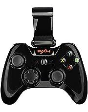 PXN 6603 Gamepad Controlador Mando Juego Bluetooth Inalámbrico para iOS (Blanco)