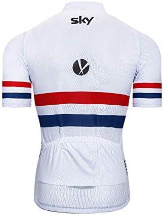 Männer Radfahren kurze Ärmel Jersey Fahrrad gepolsterte Shorts Kleidung Sets