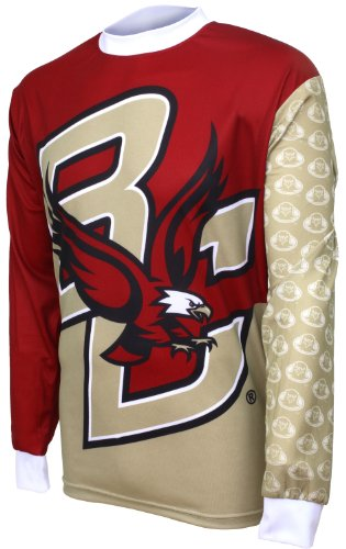 NCAA Boston College Eagles Mountain Bike Cycling Jersey (Team, XX-Large) (Boston College Cycling Jersey)