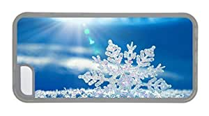 Hipster cassette for iphone 6 plus 5.5 cases snowflake sunshine TPU Transparent for Apple for iphone 6 plus 5.5