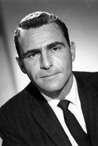 (Rod Serling in The Twilight Zone 18x24 Poster)