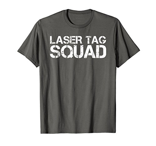 LASER TAG SQUAD Shirt Funny Birthday Party Game Gift Idea