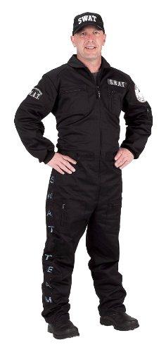 Adult SWAT Suit (Adult Large) (Adult Swat Costumes)