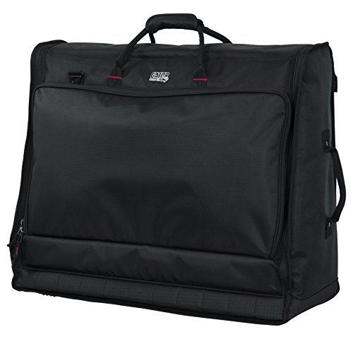 Gator Cases Padded Large Format Mixer Carry Bag; Fits Mixers Such as Behringer X32 Compact |26'' x 21'' x 8.5'' (G-MIXERBAG-2621) by Gator