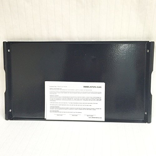 A341 Genuine OEM JennAir Electric Cooktop Range Black Griddle Grill Cover A341B (Jenn Air Cover compare prices)